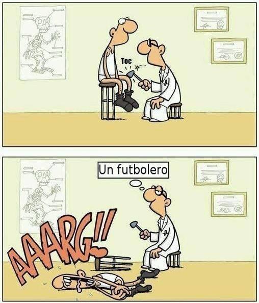 humor gráfico futbolistas