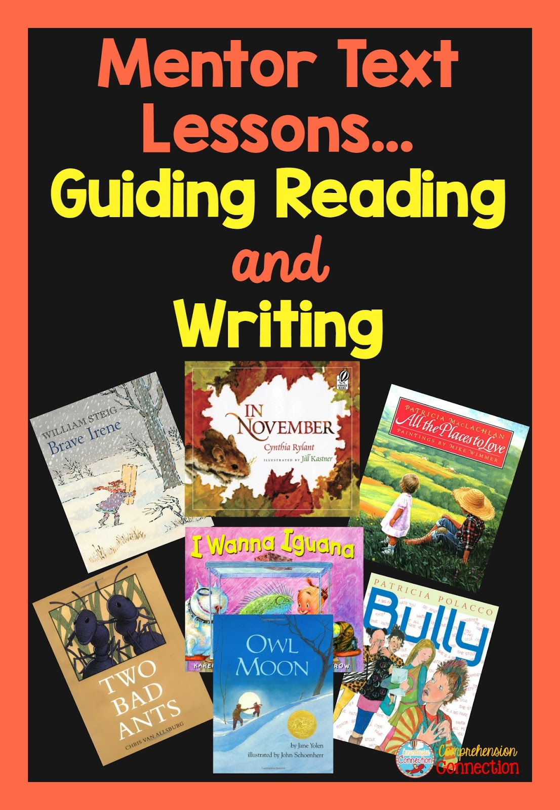 Using mentor text lessons is a great way to expose your students to great literature and model with Think Aloud comprehension skills your students need. Check out this post to learn how mentor texts can help you