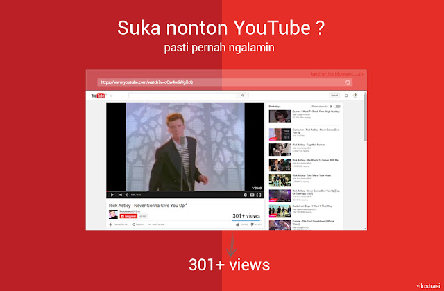 penyebab 301+ views youtube