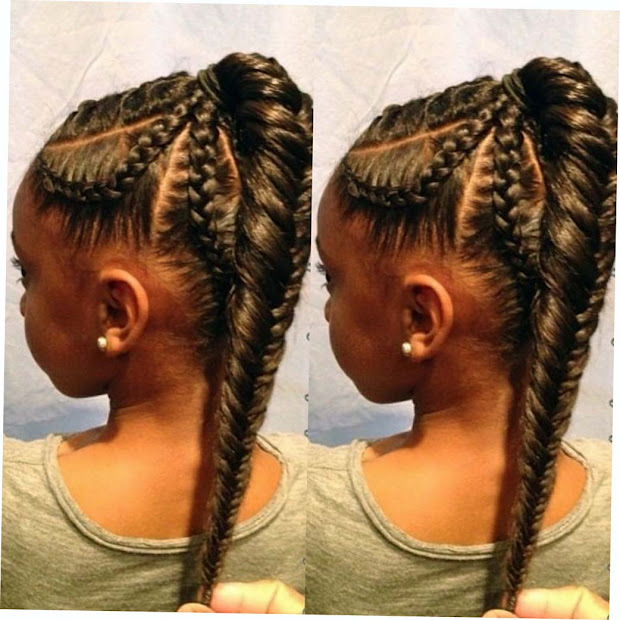 african american fishtail braids