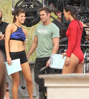 Alexandra Daddario in Shorts