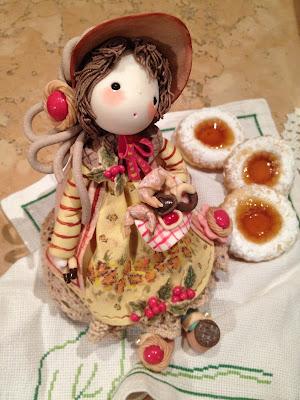 bambola porcellana fredda dolcetti