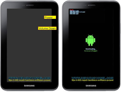 Download Mode Samsung Galaxy Tab 2 P3100