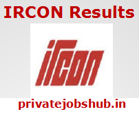 IRCON Result