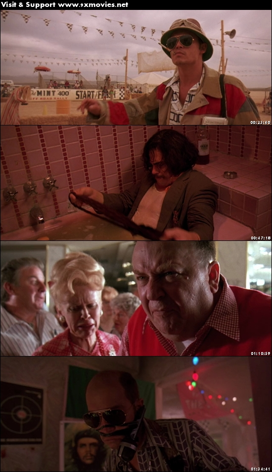Fear and Loathing in Las Vegas 1998 English 720p BRRip