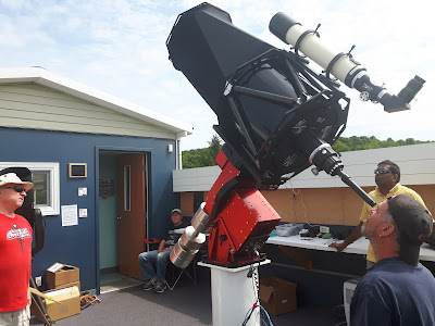 day-time collimation of the RC 16