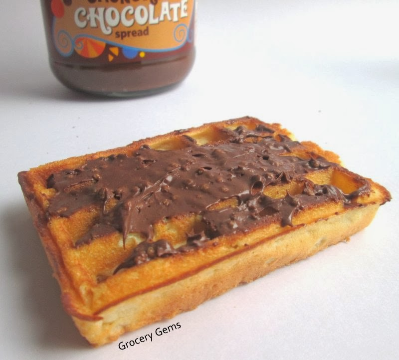Grocery Gems Review Tesco Crunchy Chocolate Spread
