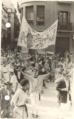 Fotografías antiguas de San Fermín