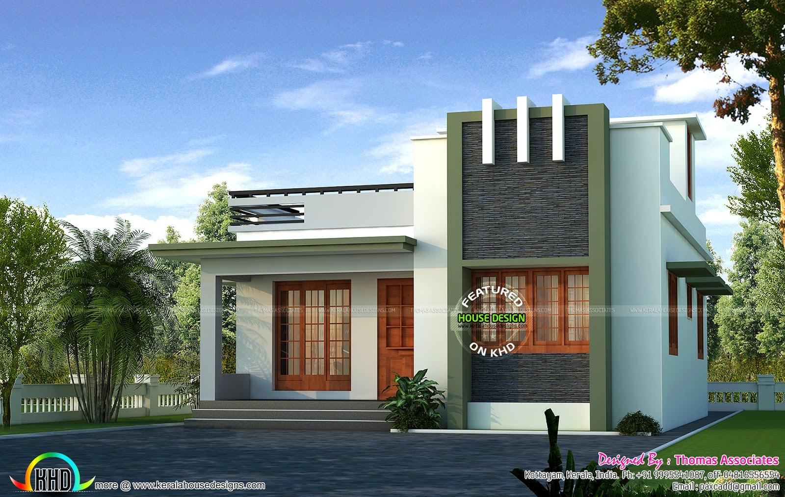 18 lakhs house plan design Kerala home design