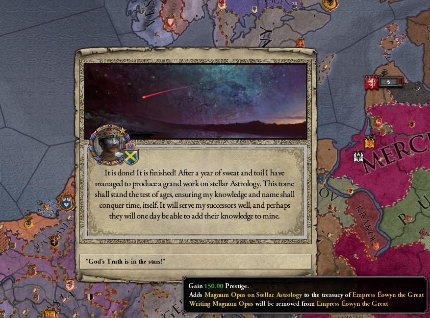 Freodom: CKII: An Empress of Mercia