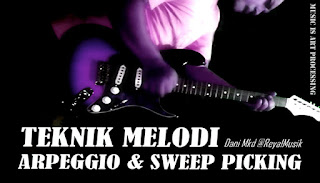 Cara Bermain Teknik Arpeggio Gitar, Teknik Speed Picking Gitar, Teknik Sweep Picking