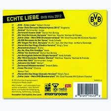 Echte Liebe Bvb Hits 2012 Bvb Borussia Dortmund