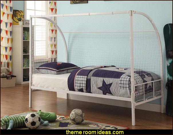soccer bed sports bedroom furiture  Sports Bedroom decorating ideas -  Wrestling theme bedroom decorating - boxing theme bedrooms - martial arts - skateboarding theme bedrooms  - football - baseball - basketball theme bedrooms - basketball bedding - golf theme bedrooms - hockey bedding - theme beds sports