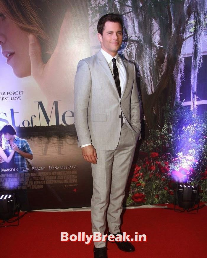 James Marsden, 'The Best of Me' Premiere Photos