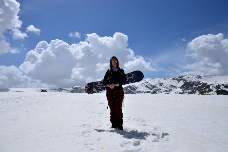 Първи преход със снегоходки и борд из Рила
