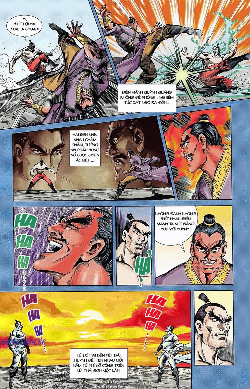 Tần Vương Doanh Chính chapter 7 trang 16
