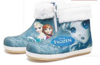Sepatu Anak Perempuan Motif Frozen  BDA 761