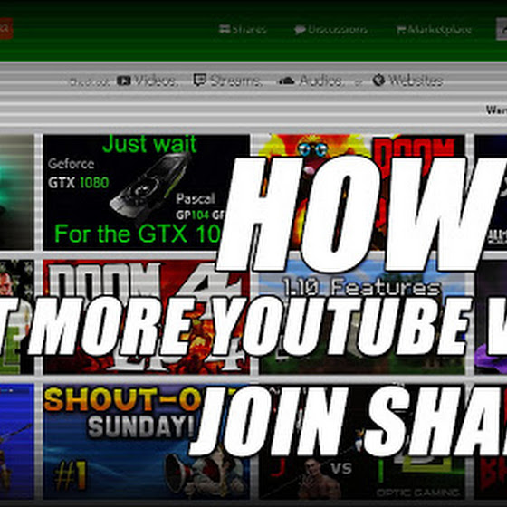 How To Get More Youtube Views ★ Share Your YouTube Videos At Sharree