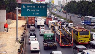 Inilah Perkiraan Jumlah Kendaraan Melintas di Tol Cikampek Karawang