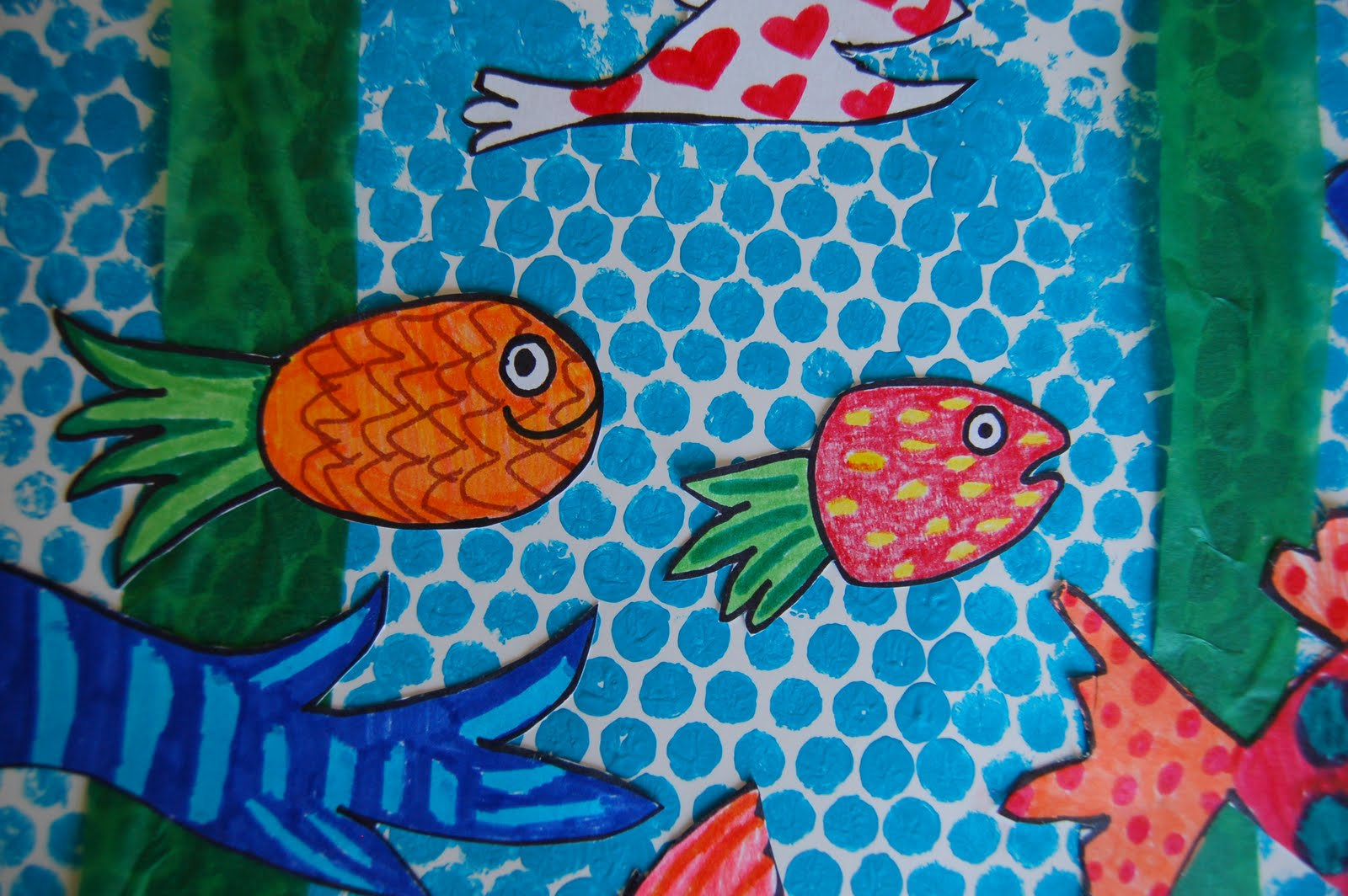Hooray For Fish Mural She S Crafty