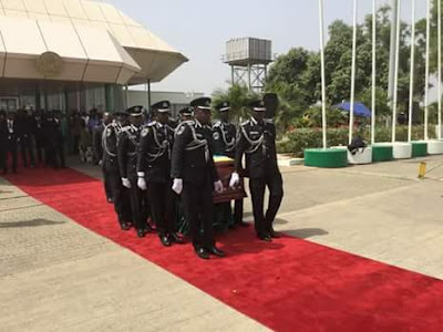 Parade Of Honour Of Late Dr. Alex Ekwueme ─ Photos