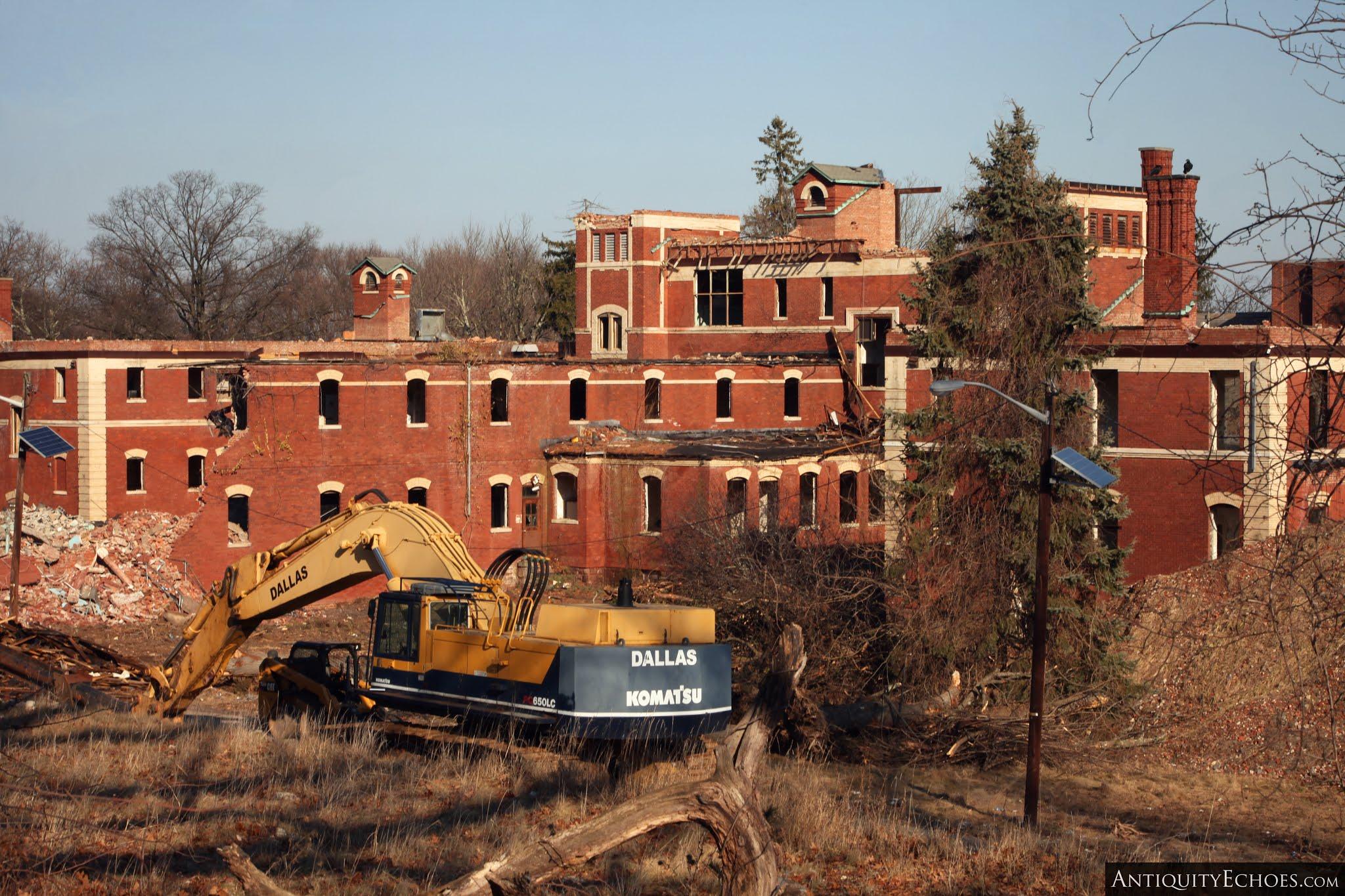 Overbrook Asylum - Wreckage