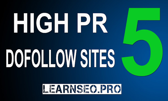 HIGHPR 5 Directory Submission sites