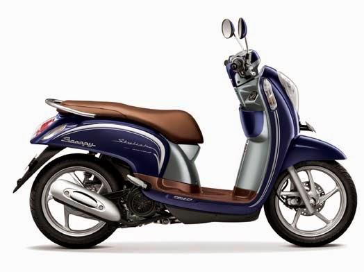 Honda Scoopy eSP Stylish Uptown Blue