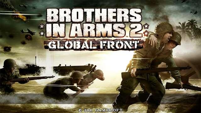 تحميل لعبة Brothers In Arms 2 للاندرويد اوفلاين من ميديا