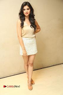 Actress Kamana Ranawat  Pictures in Short Dress at Selfie Raja Movie Success Meet  0277