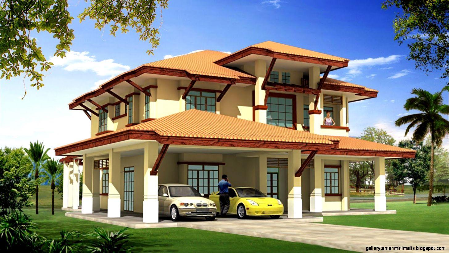 Rumah Banglo Tercantik Di Malaysia Design Rumah Terkini