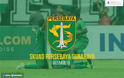 Daftar pemain Persebaya Surabaya 2018
