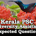 Kerala PSC : Expected Question for University Assistant Exam - 25