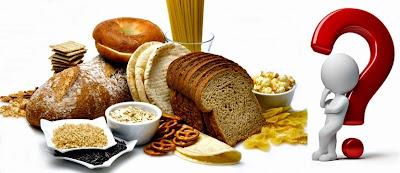 Dieta alimentos con gluten