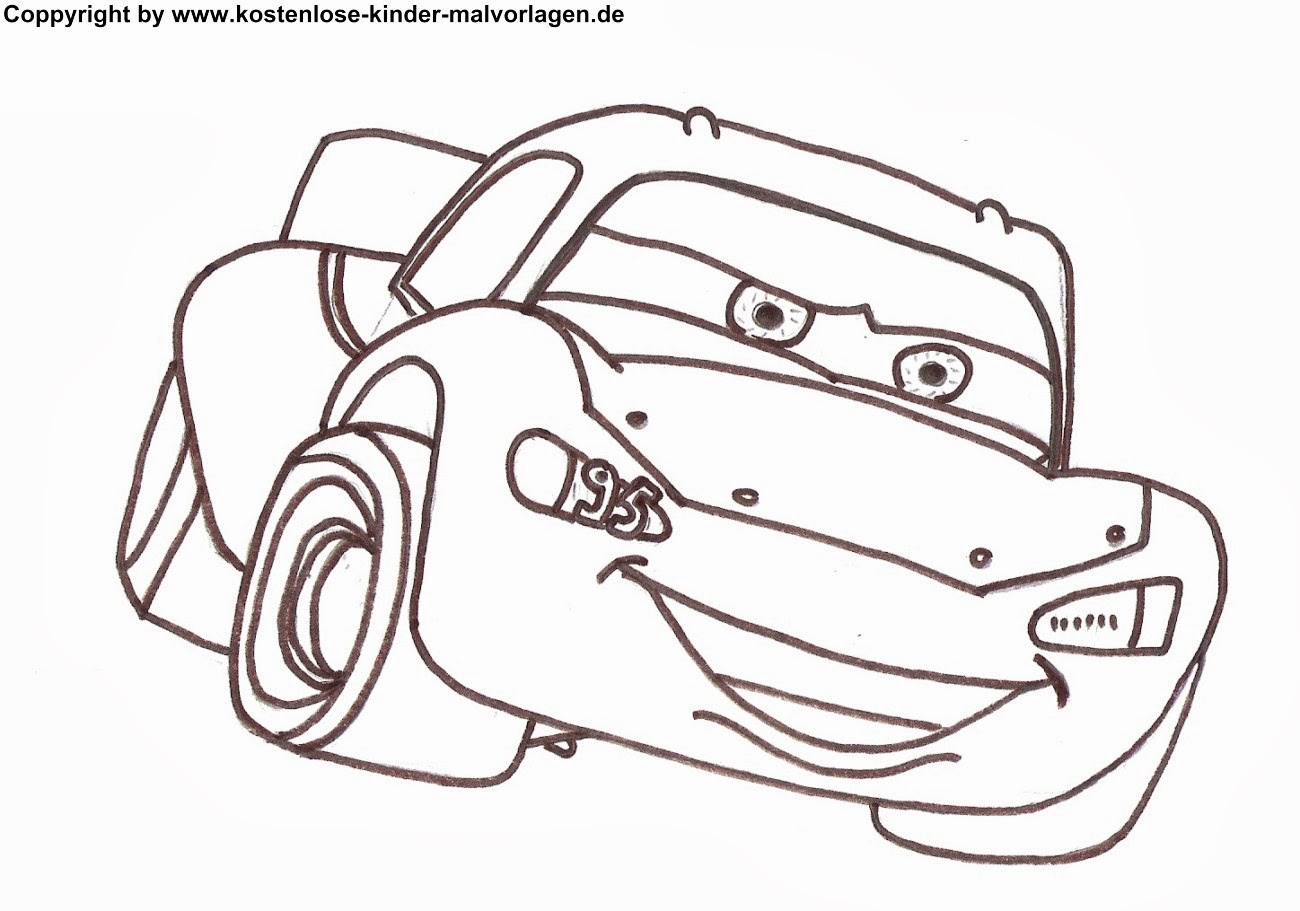 Comic Autos Malvorlagen Cars Coloring Pages For Kids