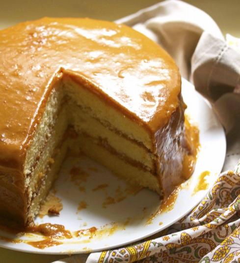 REAL DEAL SOUTHERN CARAMEL CAKE RECIPE #caramel #cake