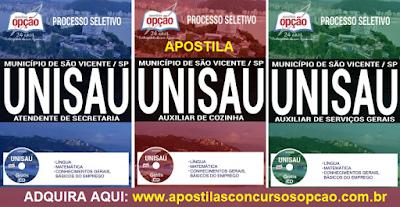 Apostila UNISAU São Vicente Processo Seletivo UNISAU 2017