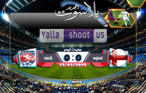 اهداف مباراة إنجلترا وجمهورية التشيك اليوم 22-03-2019 التصفيات المؤهلة ليورو 2020