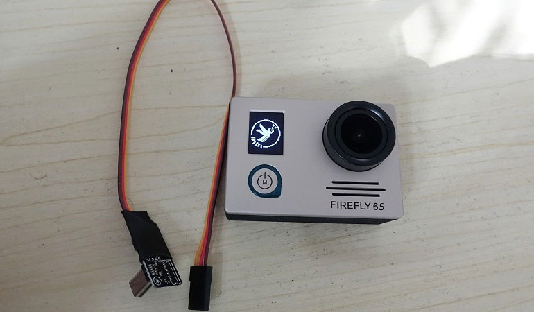 Firefly 6S 4K Sport HD Camera AV-out for FPV