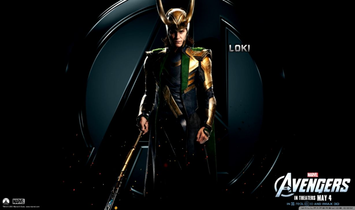 Loki In The Avengers Wallpapers Mac Wallpapers