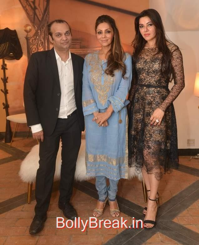Raj Anand, Gauri Khan and Kaykasshan Patel hosted the event, Gauri Khan hosted the glitterati of Mumbai in an event to launch her new workspace in Mumbai