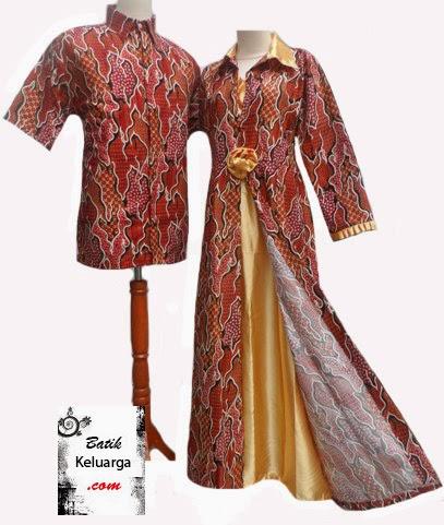 Model Baju Pesta Batik Sarimbit Keluarga Model Baju Pesta Terbaru