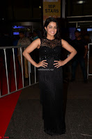 Wamiqa Gabbi in a sleeveless Black Designer Transparent Gown at 64th Jio Filmfare Awards South ~  Exclusive 020.JPG