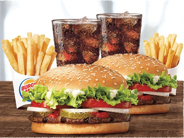 Burger King Offers 2 For 10 Whopper Meal Deal