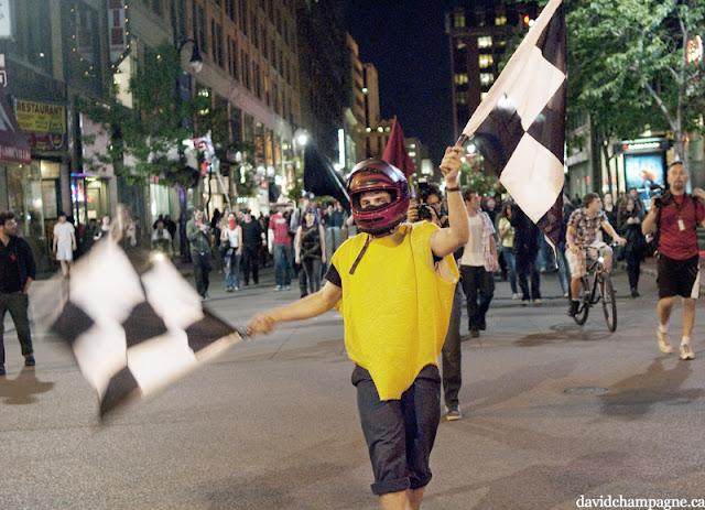 Manifestation nocturne, 31 mai 2012, Montréal [photos David Champagne]