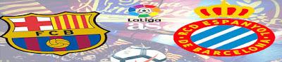 أهداف مباراة برشلونة واسبانيول