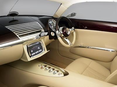 Holden Efijy Concept Model Car Interior Dashboard