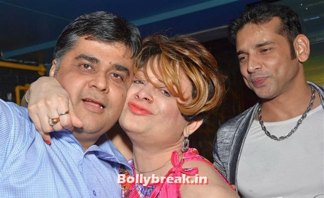 Haresh Gehi, Bobby and Sudipt, Page 3 Celebs at Lagerbay New Menu Launch Party
