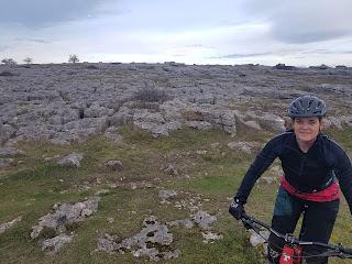 mountain biking in the lakes girl on bike