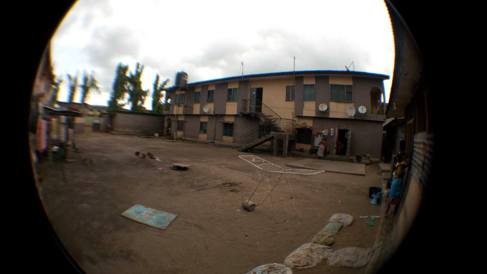 Another picture taken with fish eye lens